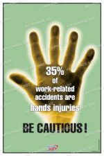 "Our work injuries Hands posters are available in many sizes and several supports.Nos sizes range from 12 ""x 18"" (30 x 45 cm) to 24 ""x 36"" (61 x 91 cm) .For larger formats dirigez- you to our main website."