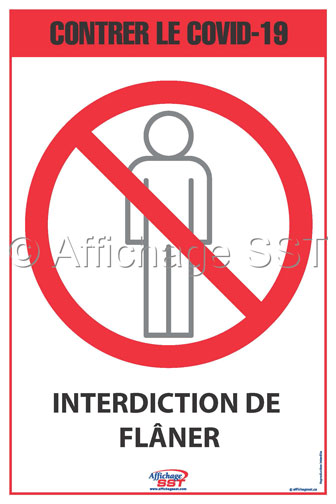 Interdiction de flâner